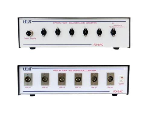Convertitore Audio con Fibra Ottica