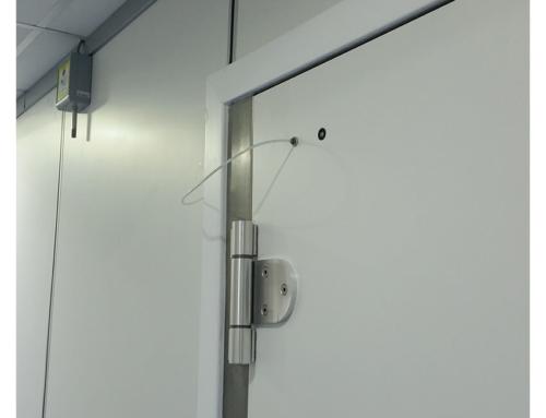 Porta Automatica RF per applicazioni MRI